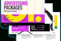 Advertising Proposal Template  Free Sample  Proposify with regard to Advertising Proposal Template
