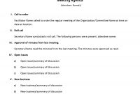 Agendas  Office regarding Simple Agenda Template