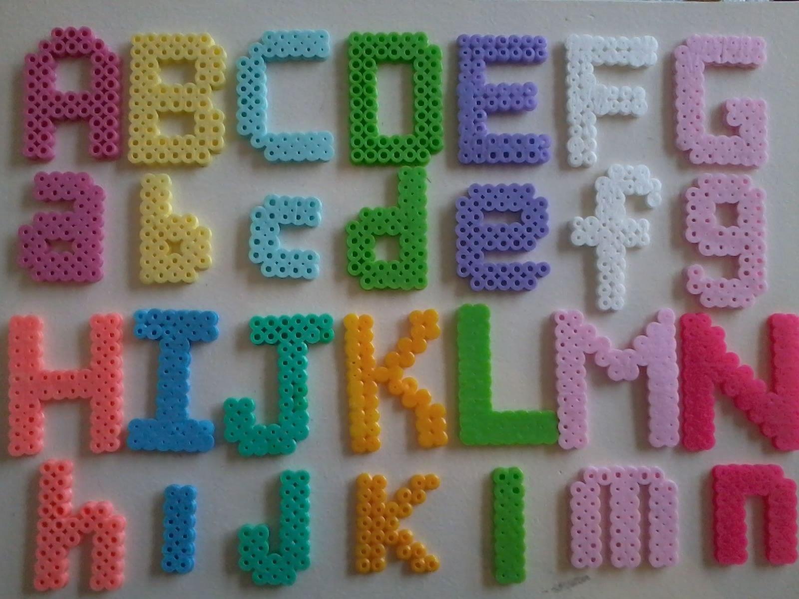 Alphabet Letra Alfabeto Letter Template Diseño Molde With Regard To Hama Bead Letter Templates