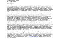 Application Letter Sample For Summer Internship  Internship Cover within Internship Cover Letter Template