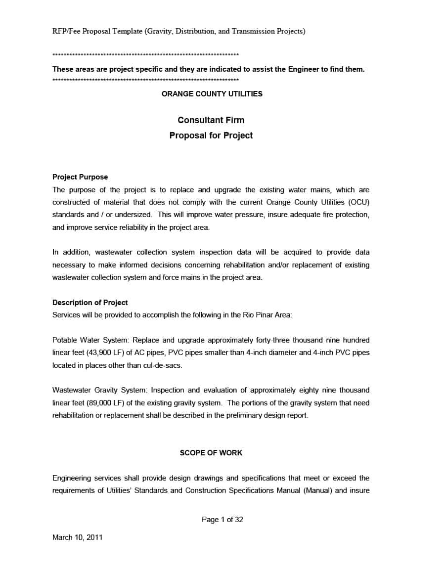 Best Consulting Proposal Templates Free ᐅ Template Lab For Consulting Project Proposal Template