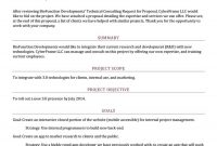Best Consulting Proposal Templates Free ᐅ Template Lab intended for Technical Proposal Template