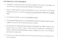 Best Ideas For Domestic Worker Retrenchment Letter Template South pertaining to Retrenchment Letter Template