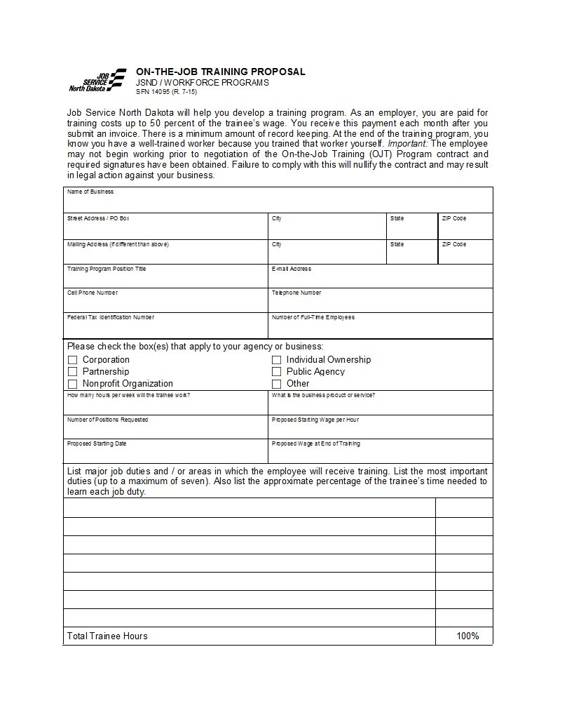 Best Job Proposal Templates Free Download ᐅ Template Lab With Regard To Employment Proposal Template