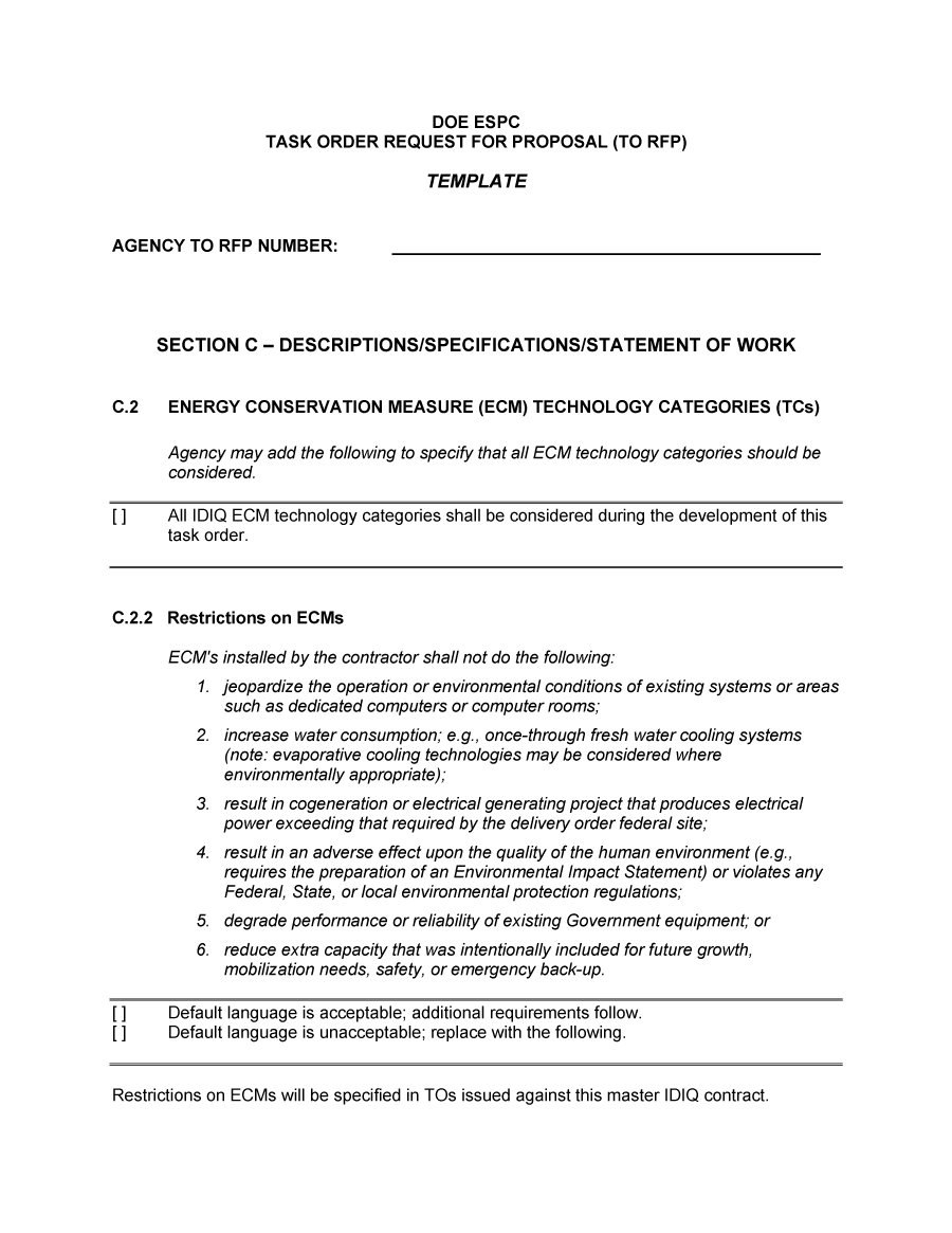 Best Request For Proposal Templates  Examples Rpf Templates Pertaining To Equipment Proposal Template