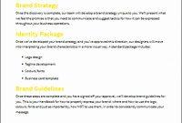 Branding Proposal Template  Sampletemplatess  Sampletemplatess for Branding Proposal Template