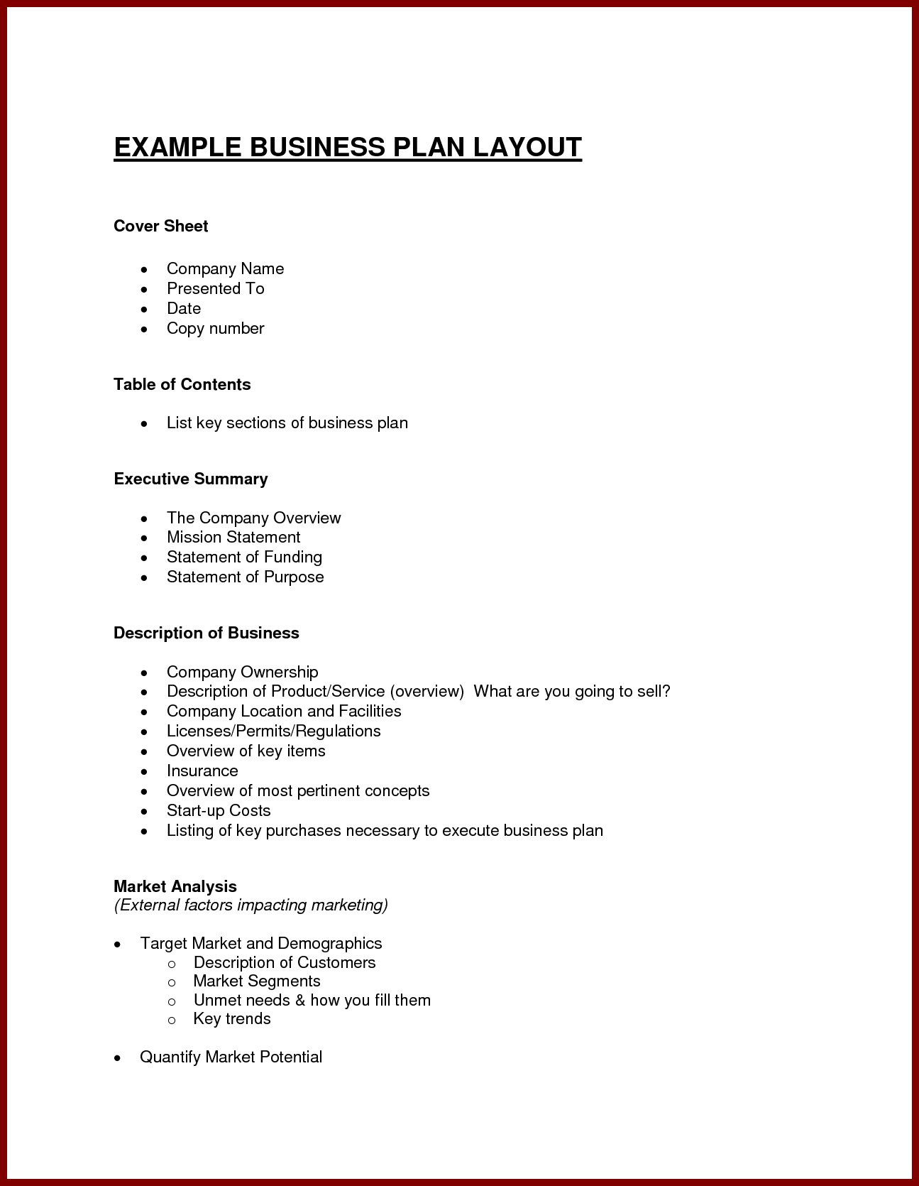 Business Plan Proposal Template Sample Of ~ Tinypetition With Sample Business Proposal Template