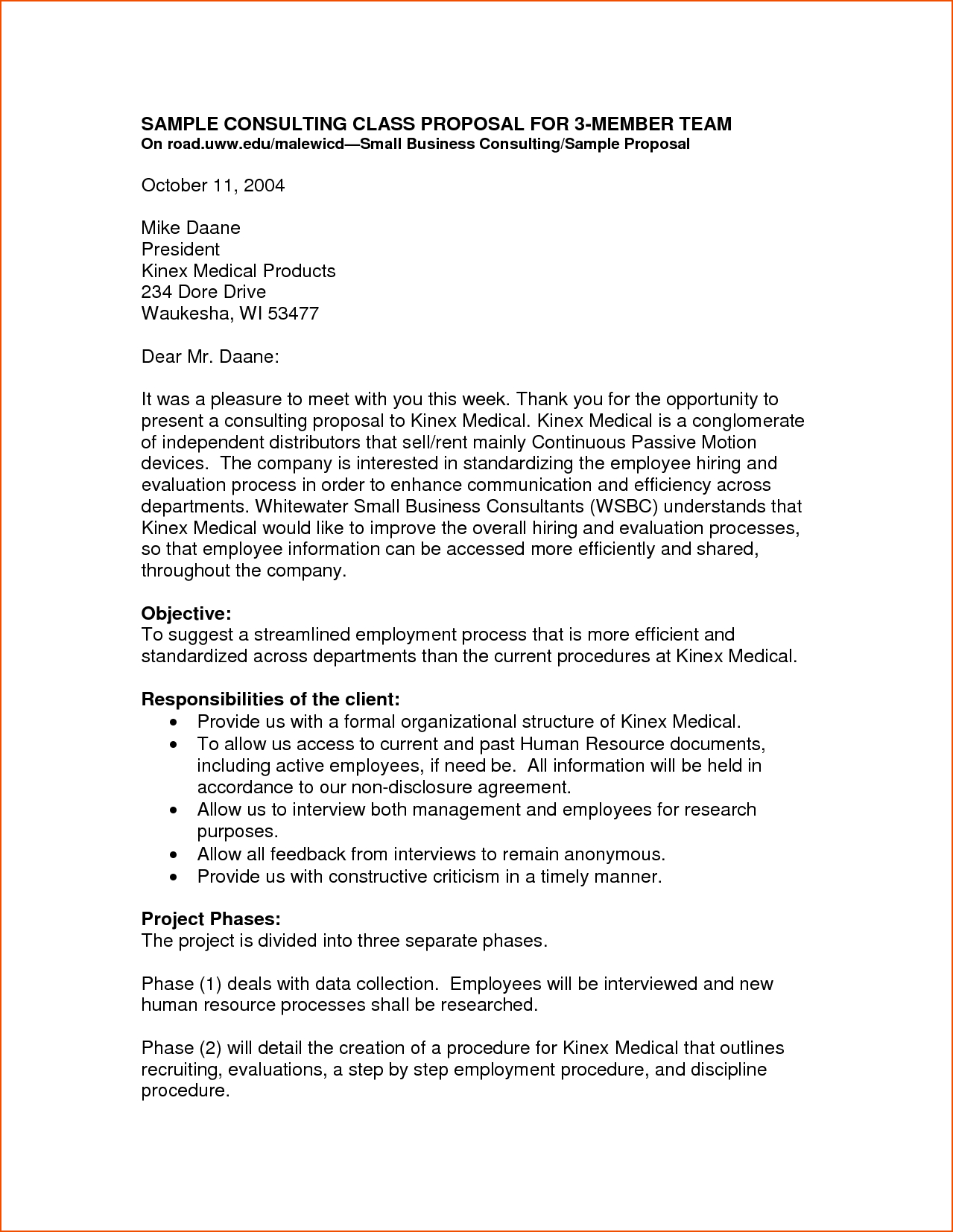 Business Proposal Templates  Bookletemplate Pertaining To Small Business Proposal Template