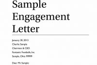 Business Valuation Engagement Letter Template Examples  Letter throughout Valuation Letter Template
