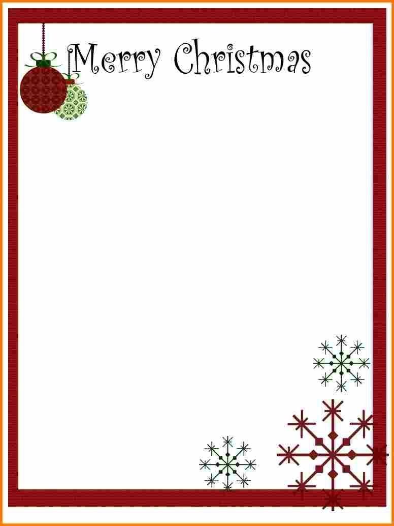 Christmas Letter Templates Free Printable  Ledger Page  Xmas Inside Christmas Letter Templates Free Printable