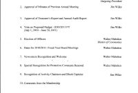 Church Business Meeting Agenda Template  Monzaberglaufverband intended for Meeting Agenda Template Word 2010
