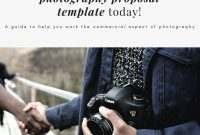 Commerical Photography Proposal Template inside Photography Proposal Template