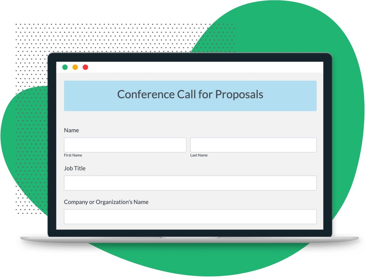Conference Call For Proposals Template  Formstack Intended For Call For Proposals Template