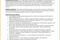 Construction Management Proposal Template One Piece Romero Construction with Project Management Proposal Template