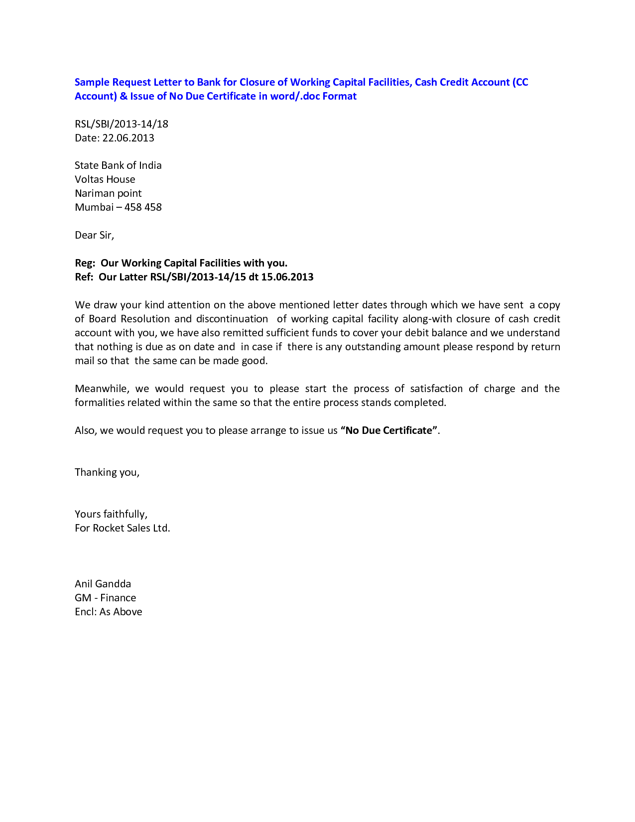 Corporate Bank Account Closing Letterclosing A Letter Formal Letter For Account Closure Letter Template