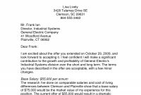 Counter Offer Letter Sample  – Guatemalago for Counter Offer Letter Template