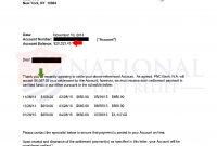 Debt Settlement Letters pertaining to Debt Negotiation Letter Template