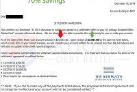 Debt Settlement Letters within Debt Negotiation Letter Template