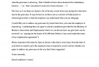Editable Grievance Letters Tips  Free Samples ᐅ Template Lab intended for Formal Letter Of Complaint To Employer Template
