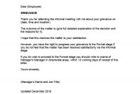 Editable Grievance Letters Tips  Free Samples ᐅ Template Lab throughout Grievance Template Letters
