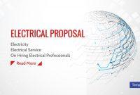 Electrical Proposal Templates  Pdf Word  Free  Premium Templates throughout Electrical Proposal Template