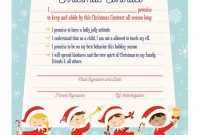 Elf On The Shelf Arrival Christmas Contract  Elf On The Shelf Ideas pertaining to Elf On The Shelf Letter From Santa Template