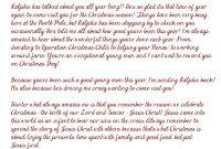 Elf On The Shelf Arrival Letter  Jesus Version    Free regarding Elf On The Shelf Arrival Letter Template