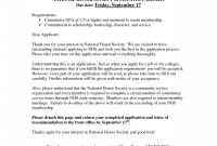 Essay Format Al Junior Honor Society Prompts Scholarship Prompt regarding National Junior Honor Society Letter Of Recommendation Template