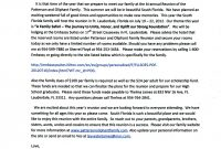 Family Reunion Letters  Click Here To Print A Copy Of This Lette R regarding Family Reunion Letter Template