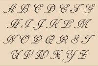 Fancy Alphabet Letter Template  Theveliger with Fancy Alphabet Letter Templates