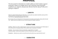 Film Proposal Templates For Your Project  Free  Premium Templates throughout Film Proposal Template