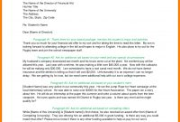 Financial Aid Reinstatement Appeal Letter Example  Case throughout Financial Aid Appeal Letter Template
