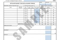 Forms  Templates  Guides  The Office Of Grants And Contracts in Grant Proposal Budget Template