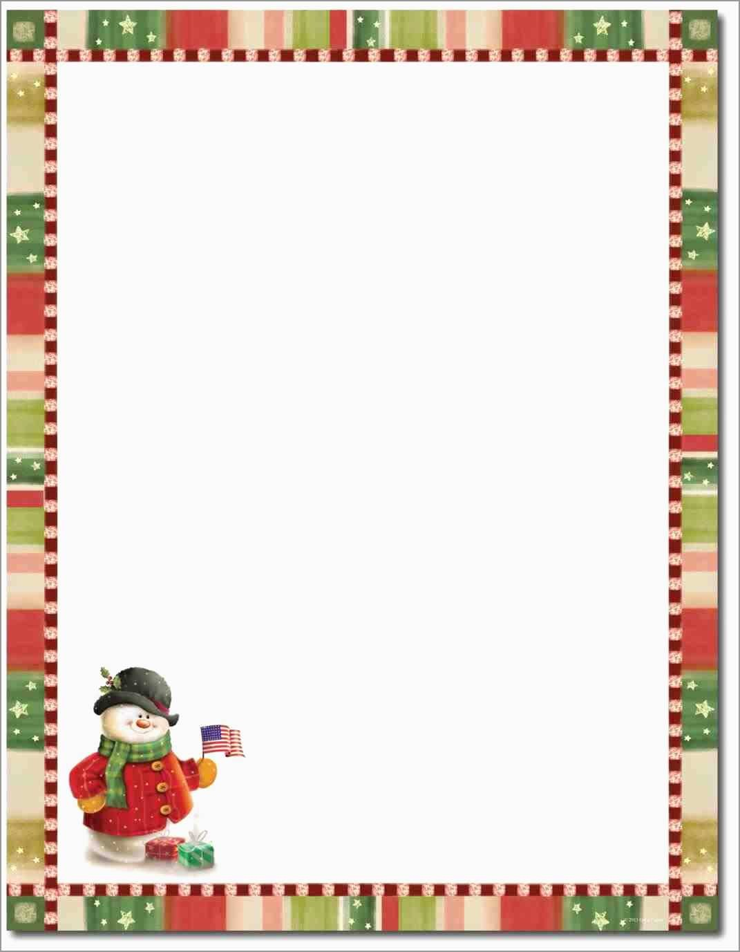 Free Christmas Letter Templates Microsoft Word Prettier Free With Christmas Letter Templates Free Printable