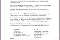 Free Printable Family Reunion Letter Templates  Template  Resume for Free Family Reunion Letter Templates
