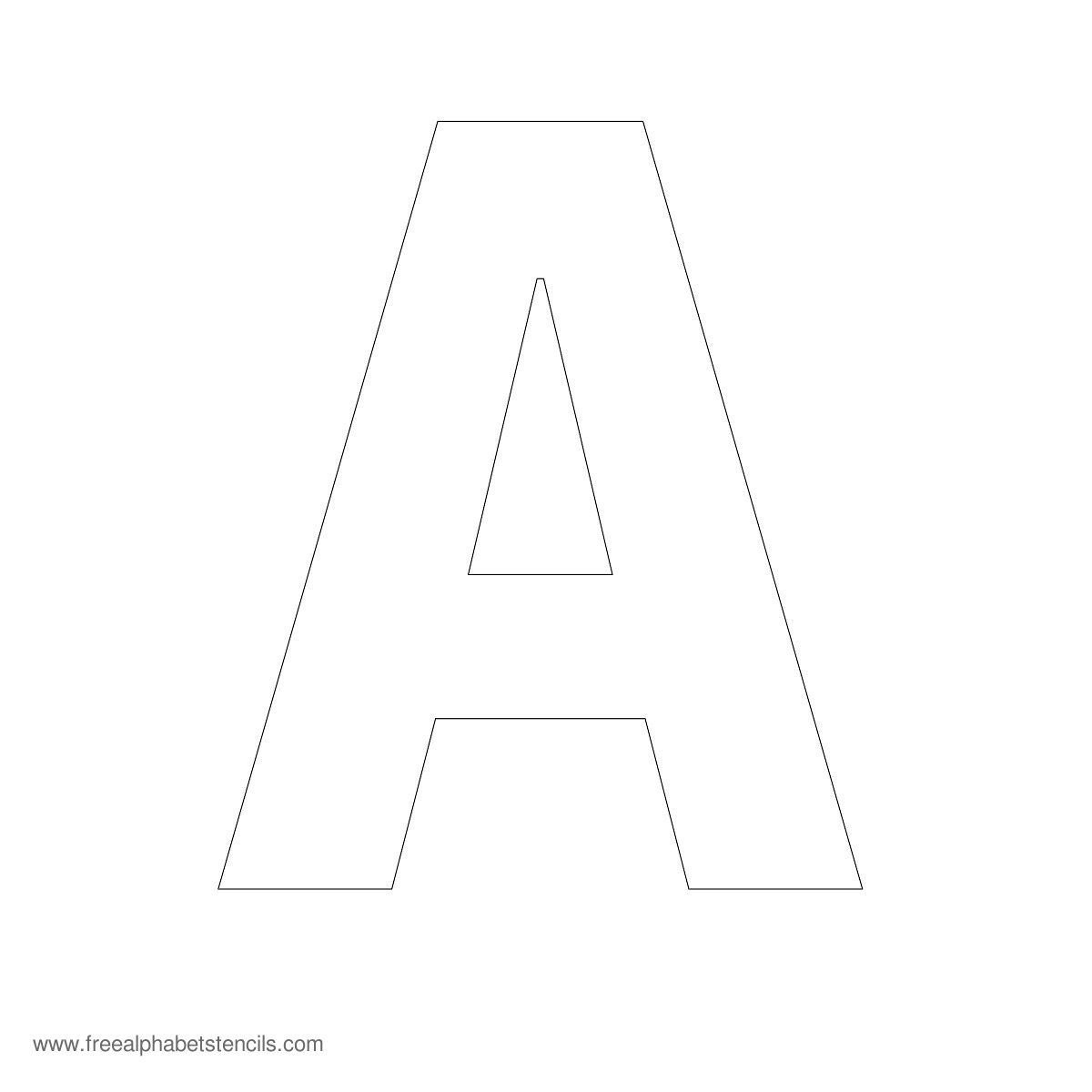 Free Printable Fancy Letters  Free Printable Large Alphabet Letter Within Large Letter Templates