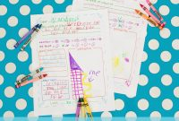 Free Printable Letter Writing Templates For Grandma Pen Pal  Five intended for Letter Writing Template For Kids