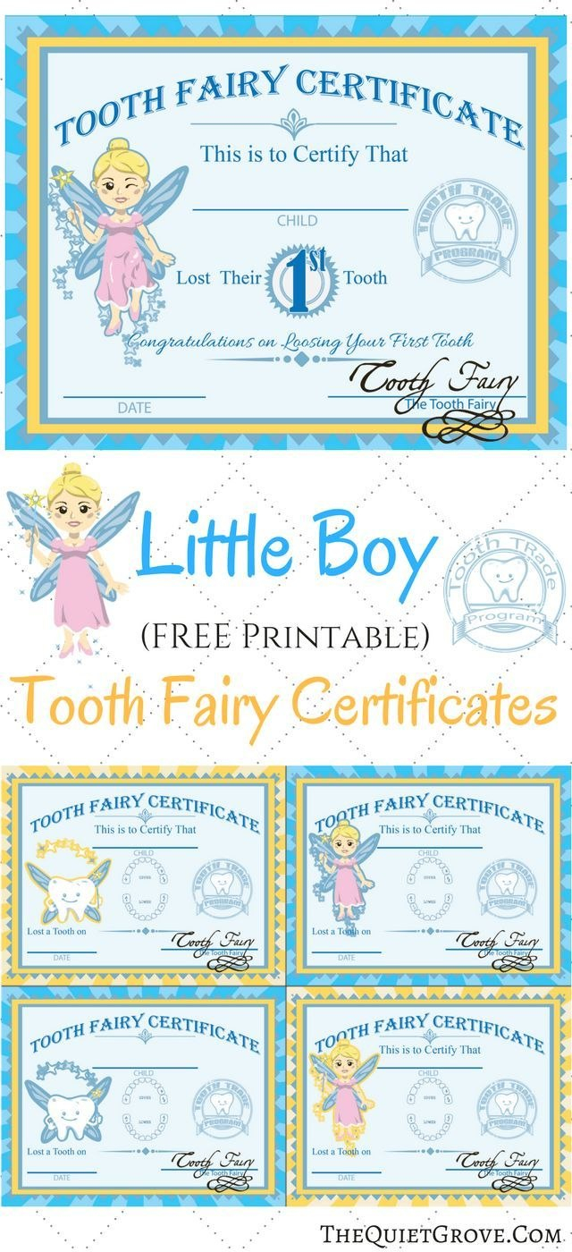 Free Printable Tooth Fairy Certificates  Fabnfree  Freebie Group Regarding Tooth Fairy Letter Template