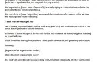 Fundraising Letters  Examples To Craft A Great Fundraising Ask inside Political Fundraising Letter Template