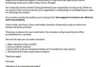Fundraising Letters  Examples To Craft A Great Fundraising Ask intended for Political Fundraising Letter Template