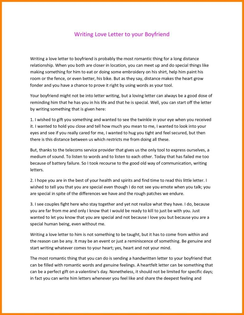 Get Free Romantic Love Letters For Him Template  Love Letter Format Inside Template For Love Letter