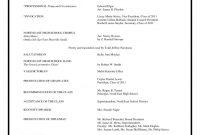 Graduation Party Program Sample Agenda Example Format Templates in Program Agenda Template