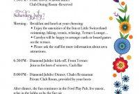 Graduation Party Program Template – Binoterrainsco Party Agenda intended for Party Agenda Template