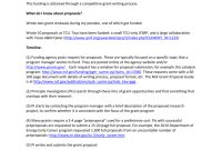 Grant Writing in Research Grant Proposal Template