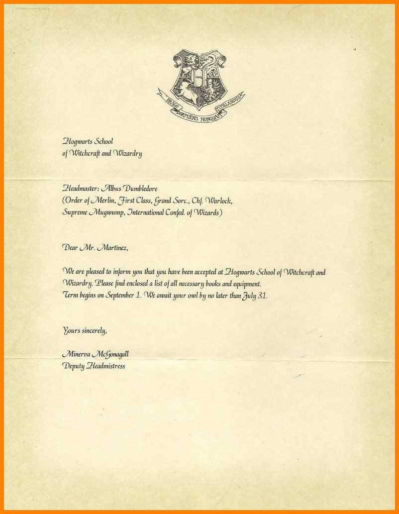 Harry Potter Acceptance Letter Template Download  Plasticmouldings With Harry Potter Acceptance Letter Template