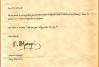 Harry Potter Letter From Hogwarts Printable  Managementoncall in Harry Potter Letter Template