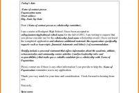 High School Scholarship Application Letter Sample  Pear Tree Digital intended for Scholarship Award Letter Template