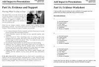 How To Create The Perfect Presentation Handout intended for Presentation Handout Template