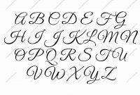 How To Draw Fancy Cursive Letters A Z Unique Fancy Calligraphy regarding Fancy Alphabet Letter Templates