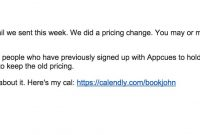 How To Email Your Customers About A Price Increase — And Spur Sales regarding Price Increase Letter Template